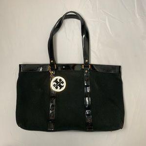 Tory Burch Black Tote Shoulder Bag